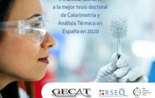 Premio GECAT a la mejor tesis doctoral 2020